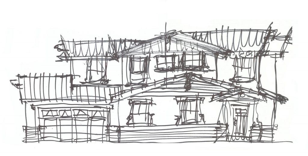 a glimpse at the architectural design process urban arena